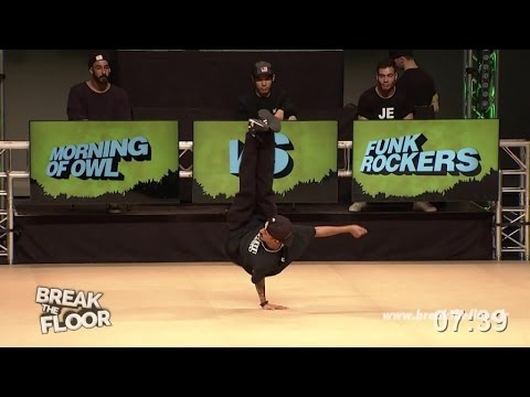 BREAK THE FLOOR 2015 | MORNING OF OWL VS FUNK FOCKERS