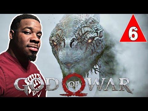 HUGE CREATURE WORLD SERPENT OMG !! God Of War Gameplay Walkthrough Part 6 - God Of War 4