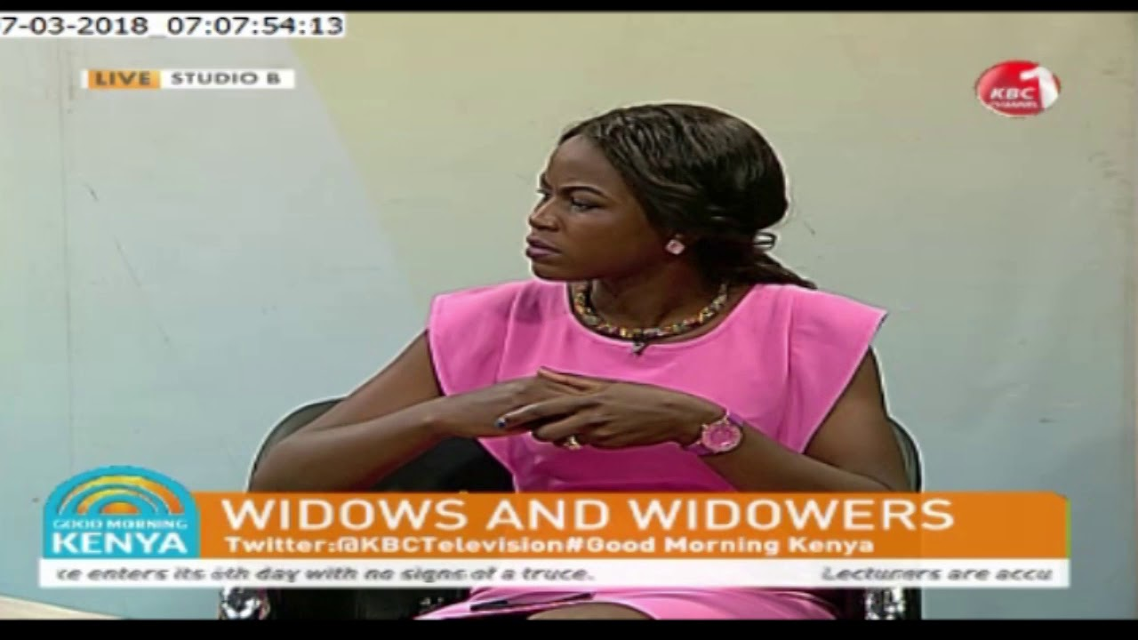 Good Morning Kenya - Widows and Widowers (7th March 2018)