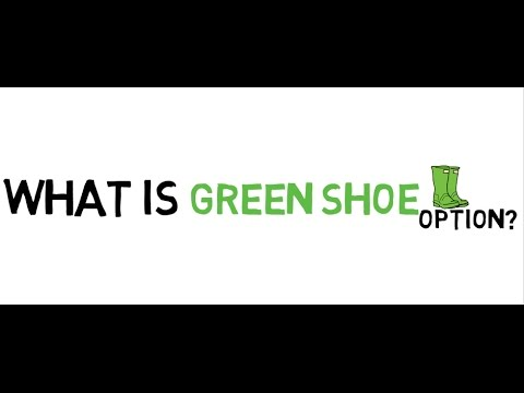 What is Green Shoe Option?  detailed explanation with example [HD]