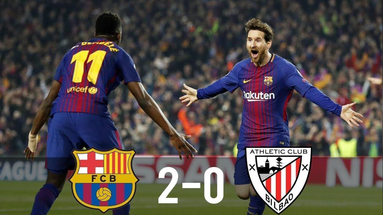 Barcelona vs Athletic Bilbao 2-0 - All Goals & Highlights ...