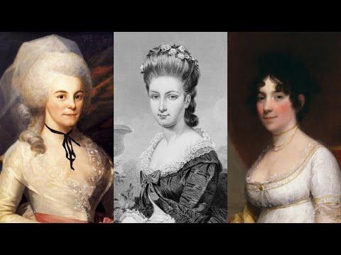The Founding Mothers of the USA, 3: Eliza Hamilton, Sarah Jay & Dolley Madison
