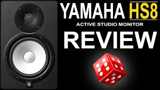 Yamaha HS8 Studio Monitor Review - The Best Affordable Option For EDM?
