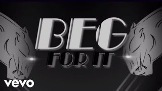 Gambar cover Iggy Azalea - Beg For It ft. MØ (Lyric Video)