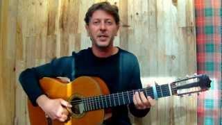 Les copains d'abord - G.BRASSENS  (guitar & vocal cover)