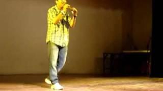 vinay mohan performing hindi song abhijeet sawant