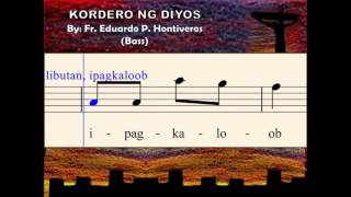 I08d Kordero ng Diyos - by E. Hontiveros (Bass)
