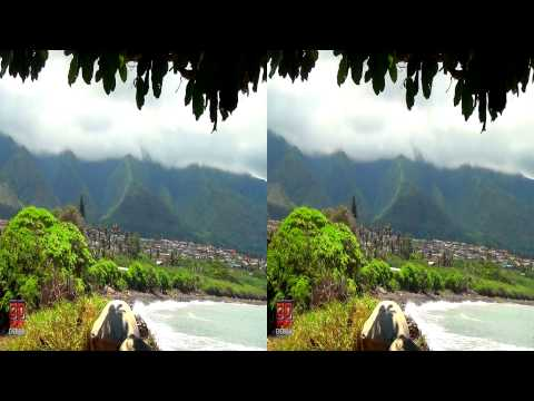 3D Mountain View Hawaii Nature Scene FREE 3D Video Everyday N°9
