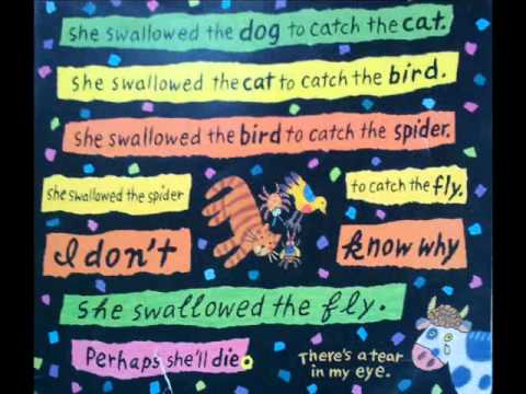 the old lady who swallowed a fly by simms taback youtube