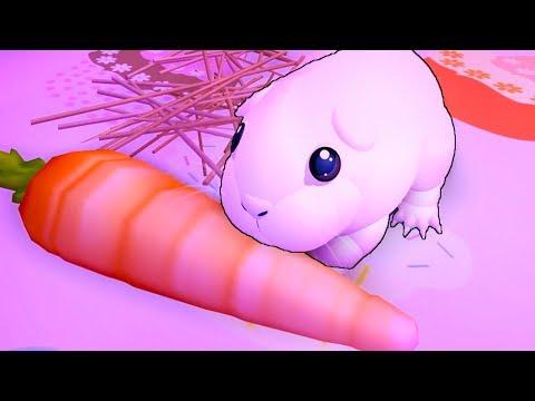 СИМУЛЯТОР Маленькой Морской свинки хомячка. Милый малыш мышонок в ROBLOX на канале КИДА #КИД