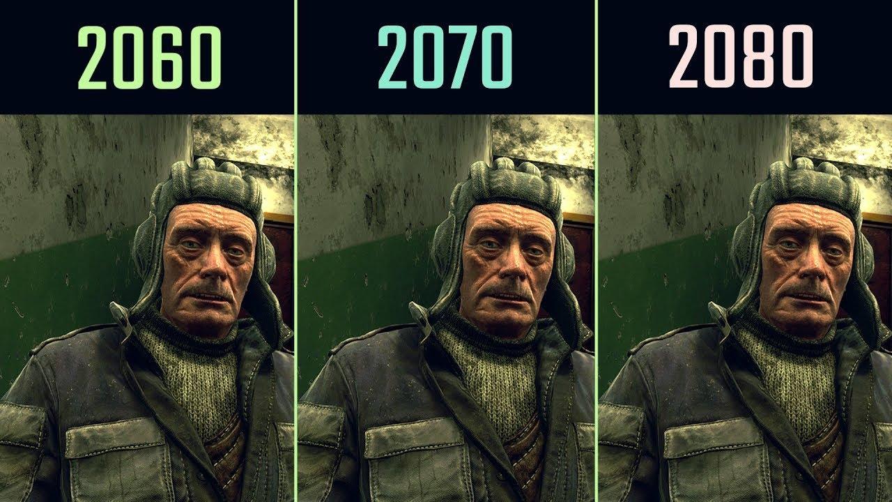 RTX 2060 vs  RTX 2070 vs  RTX 2080 Metro Exodus