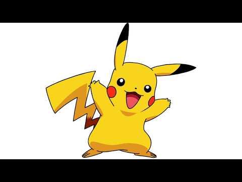 Download How To Draw A Pikachu Pokemon çocuklar Için Renkli Boyama