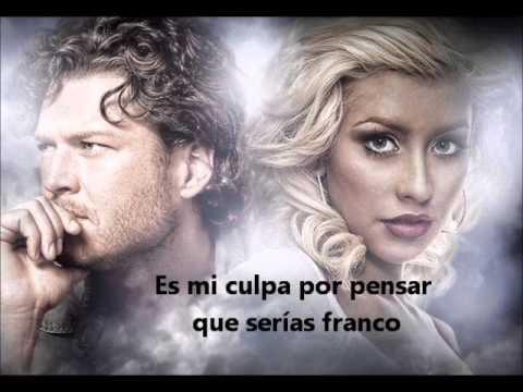 """Christina Aguilera feat. Blake Shelton """"Just a Fool"""" Subtitulada al Español"""