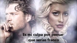 Скачать Christina Aguilera Feat Blake Shelton Just A Fool Subtitulada Al Español
