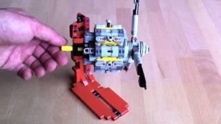 Moteur factice Lego : 6 cylindres en étoile