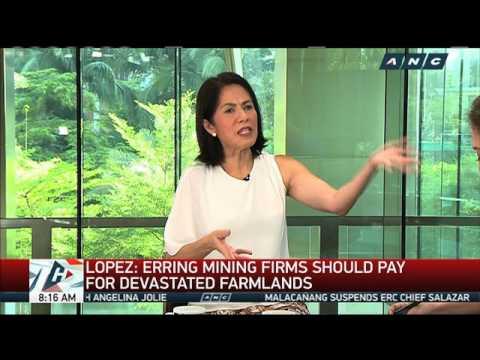 Lopez: Constitution backs mining crackdown