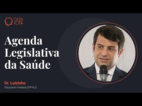 Live com deputado Dr. Luizinho (PP-RJ) sobre Agenda Legislativa da Saúde | 30/03/21