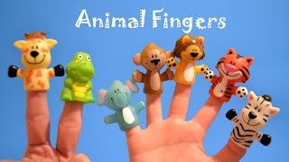 Finger Family - Animals!!!