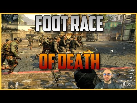 Death Race #1 - Call of Duty Foot Race of Death - Last place is first to die. | Swiftor