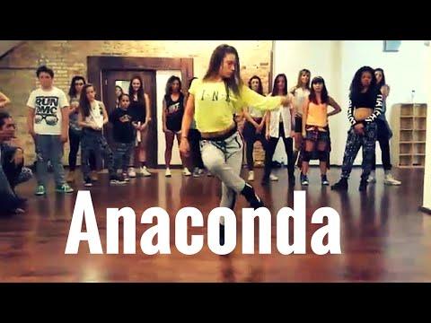 JADE CHYNOWETH -Anaconda tricia miranda choreography