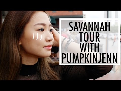 🎃 [旅行團]美國Savannah一日遊 Savannah Tour With Me | Pumpkin Jenn 🎃