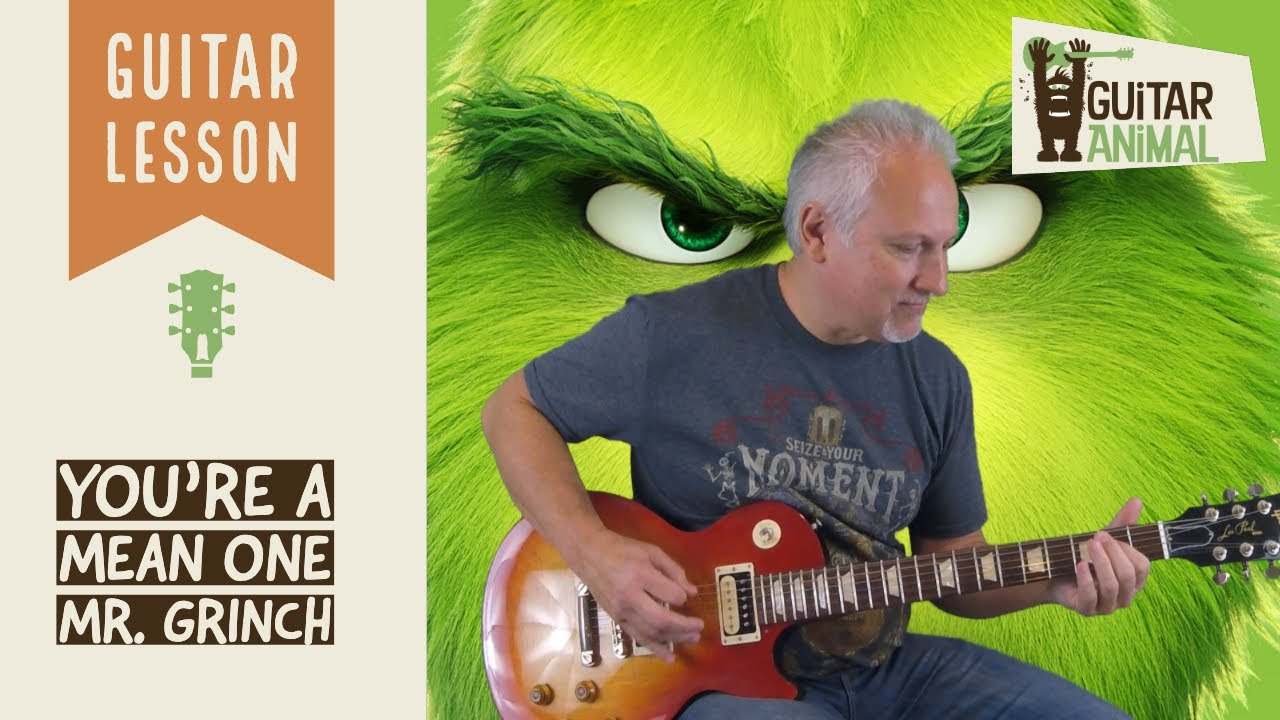 You're A Mean One Mr. Grinch by Gary Hoey 1