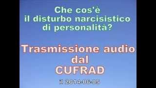 2014 06 05 IL DISTURBO NARCISISTICO DI PERSONALITA