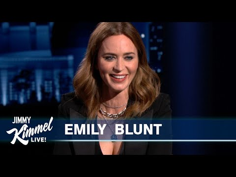Emily Blunt on Her Horrible First Kiss, Quarantine with Kids & A Quiet Place Part II