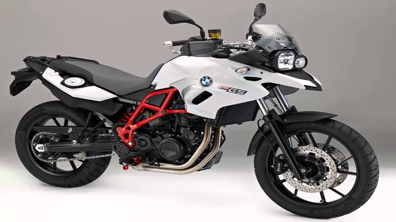 BMW update GS range for 2016 - YouTube