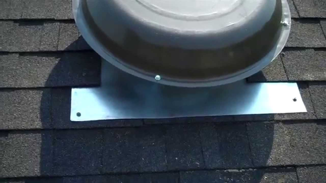 How To Install A Masterflow Power Roof Vent Fan Doovi