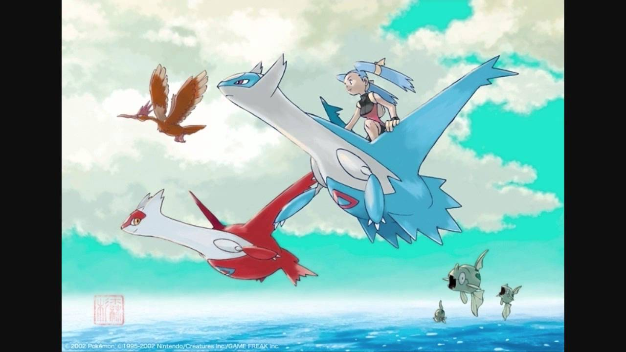 Project Zephyr Battle Vs Latios And Latias Fanmade