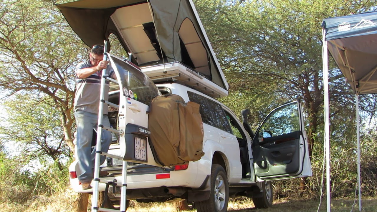 Homemade Rooftop Tent Youtube