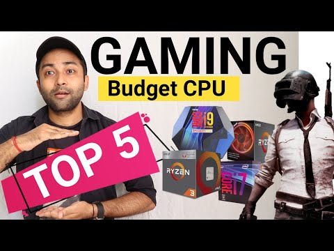 Top 5 Best CPU For Gaming 2020 | Best Budget CPU For Gaming | Streaming | 4k Video Editing
