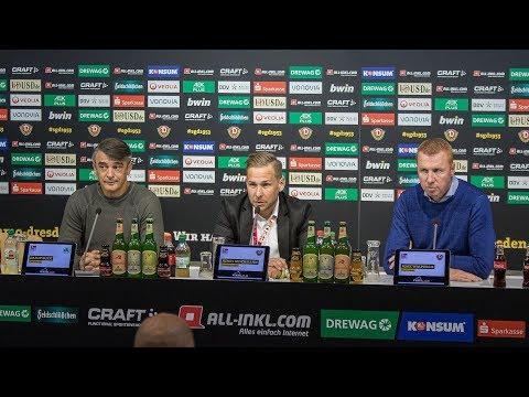 8. Spieltag | SGD - SGF | Pressekonferenz nach dem Spiel
