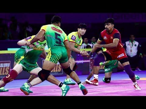 Pro Kabaddi 2019 Highlights  BENGALURU BULLS VS PATNA PIRATES [Hindi]