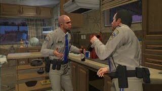 GTA V - Michael and Trevor arguing
