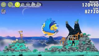 Angry Birds Rio Rocket rumble All levels