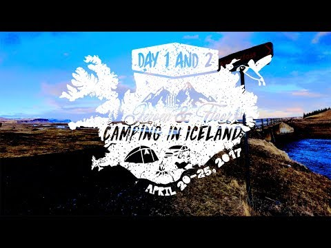 Iceland - Wild camping and watching lots of waterfalls. April 20-25, 2017