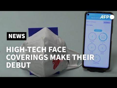 AFP News Agency: Translation tools, air purifiers: face masks go high-tech | AFP