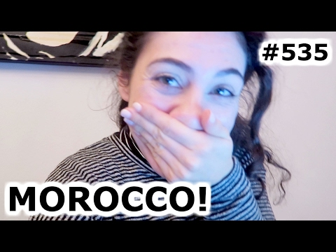 MOROCCO FLIGHT TICKET BOOKING | AMSTERDAM DAY 535 | TRAVEL VLOG IV