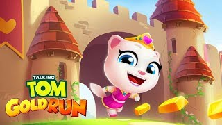 Talking Tom Gold Run NEW UPDATE 2018- New Character PRINCESS ANGELA Unlocked