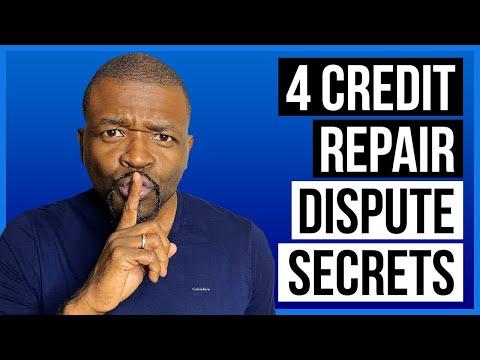 Dispute Credit Report: 4 Dispute Secrets