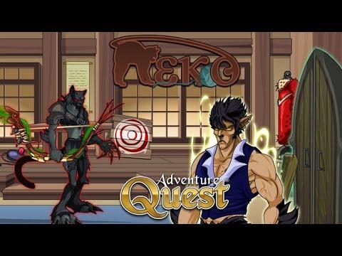 AQ | Adventure Quest | Battleon | Neko Subrace Part 2 | New Front Door House Guard