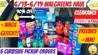 🔥Walgreens Haul 6/13 {90% off CLEARANCE + FREEBIES}5 CURBSIDE ORDERS + GLITCH?! 6/13 Walgreens Deals