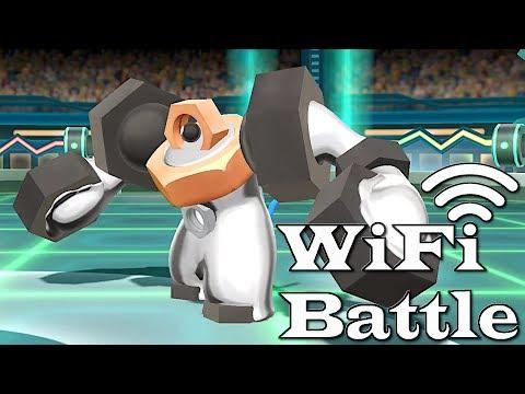 Pokemon Let's Go Pikachu & Evoli WiFi Battle: SHINY MELMETAL!