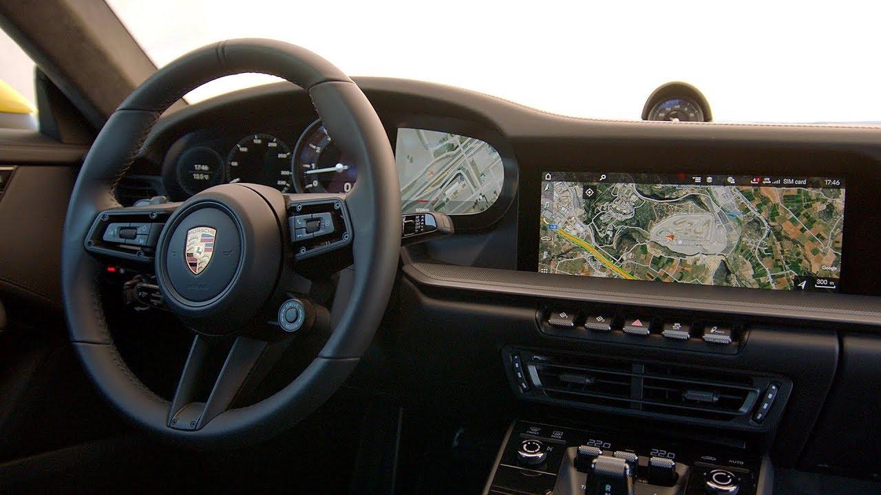 2019 Porsche 911 Carrera S Interior Youtube