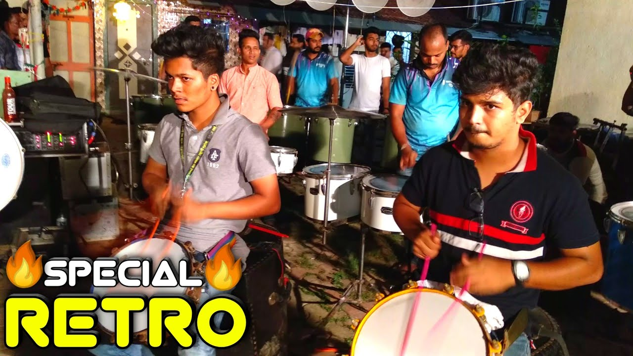 Lalbaug Beats | Retro Special Songs | Banjo Party In Mumbai, 2019 | Haldi Show 2019