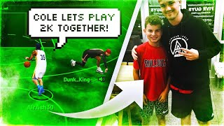 I met a subscriber in real life & we played 2K19 together...