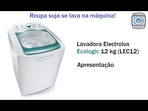 Lavadora Electrolux Ecologic 12kg (LEC12) - Apresentação