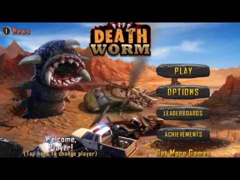 Death Worm By PlayCreek / IPHONE/IOS/ GAME REVIEW